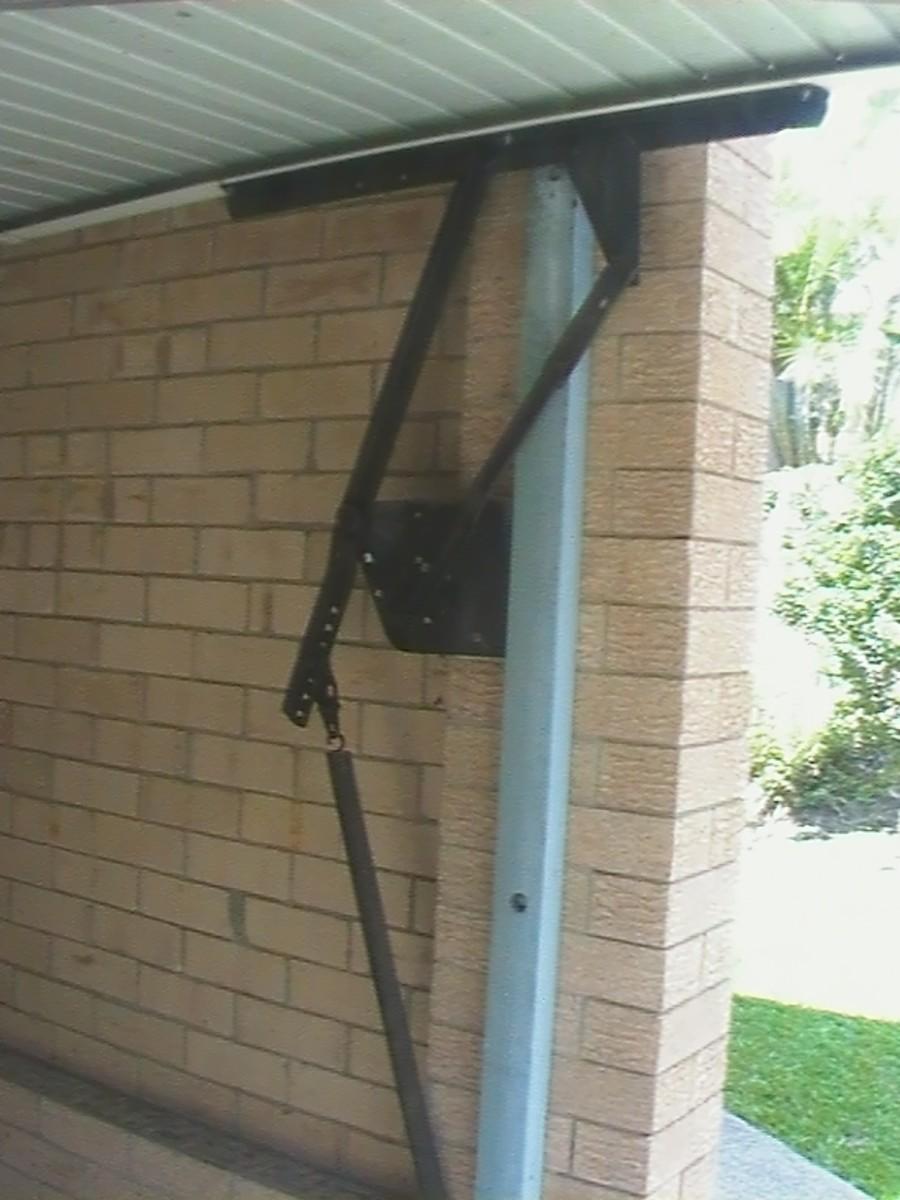 How To Adjust A Roll Up Garage Door Garage Door Spring