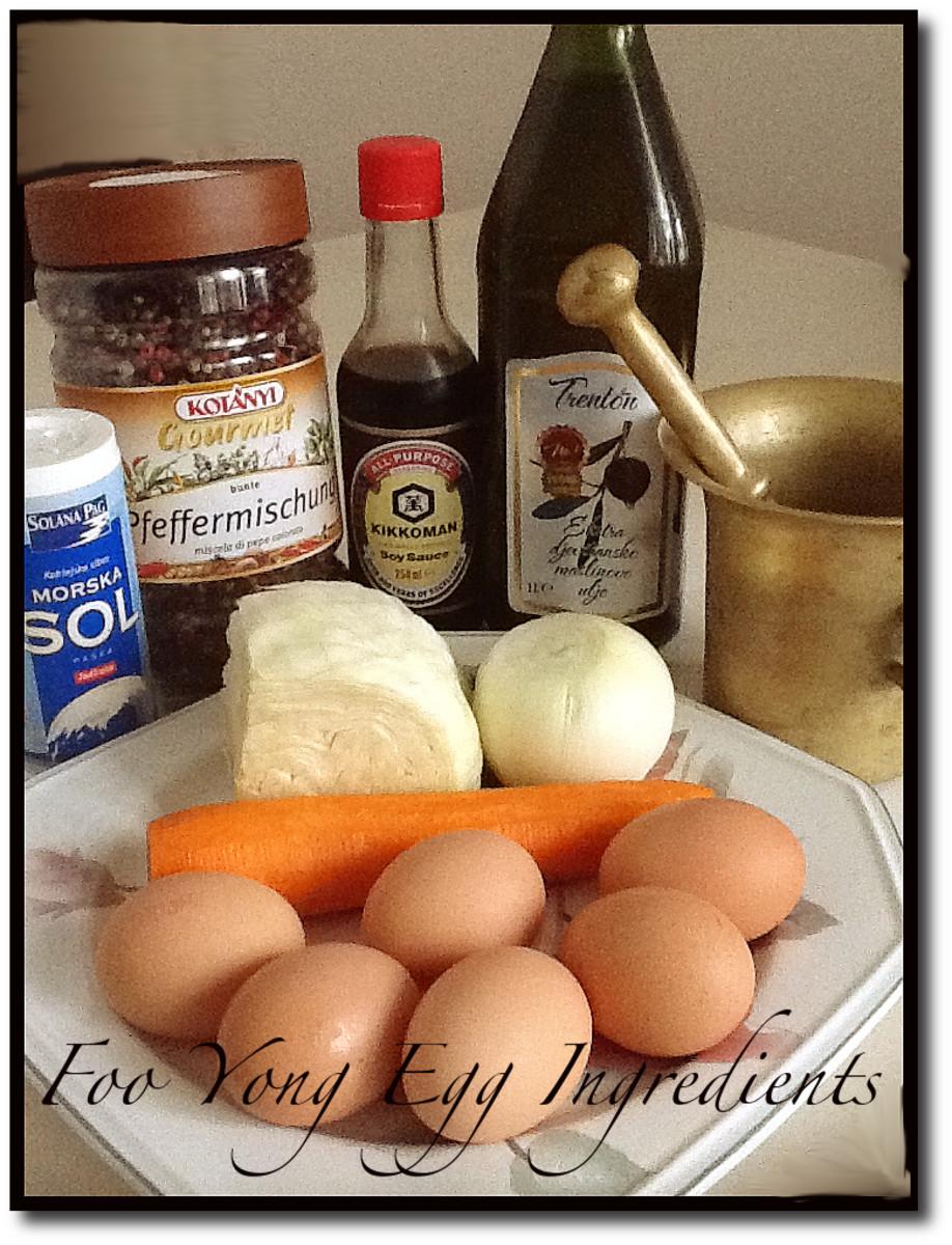 Egg Foo Yong Ingredients