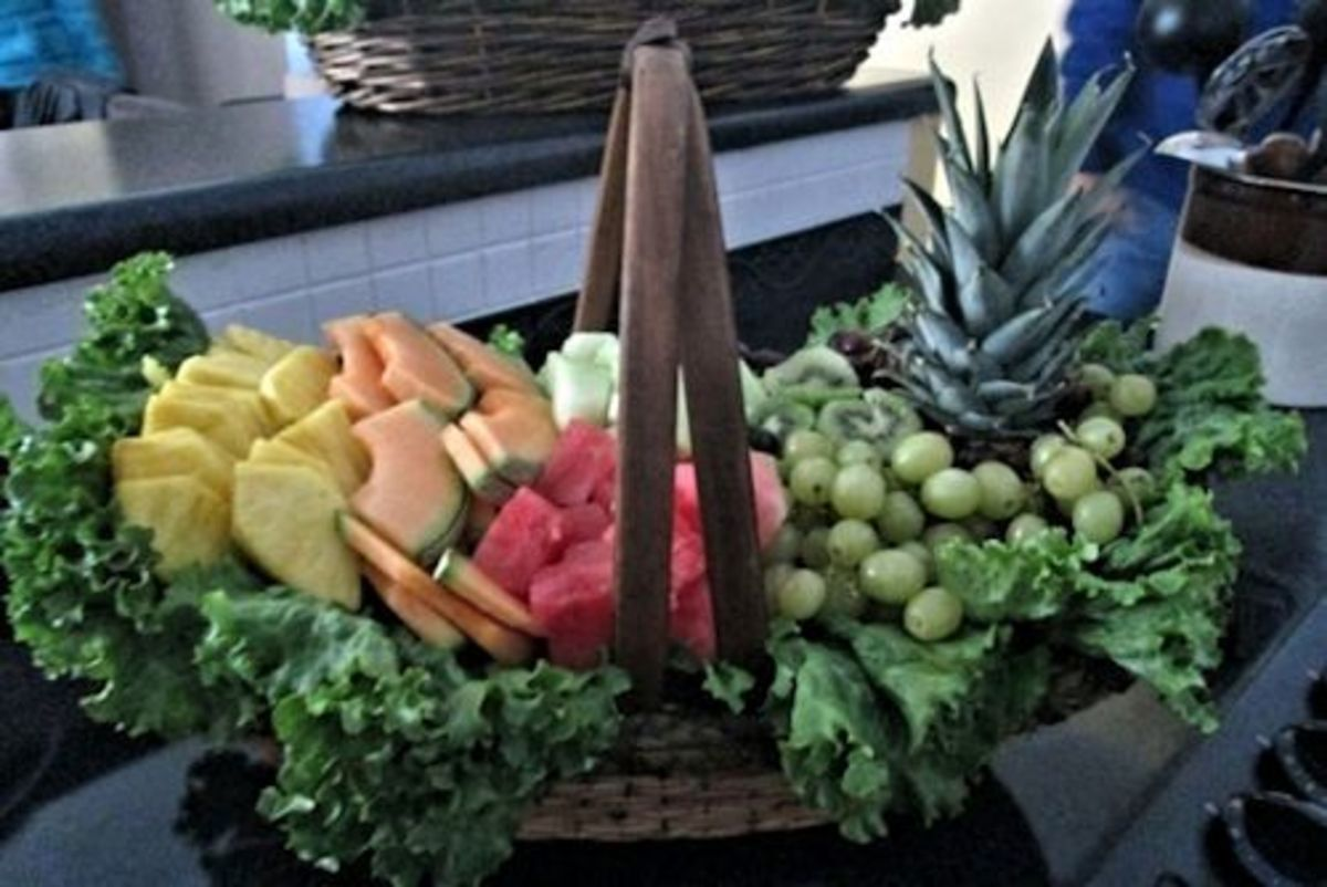 Fruit and Veggie Display 2