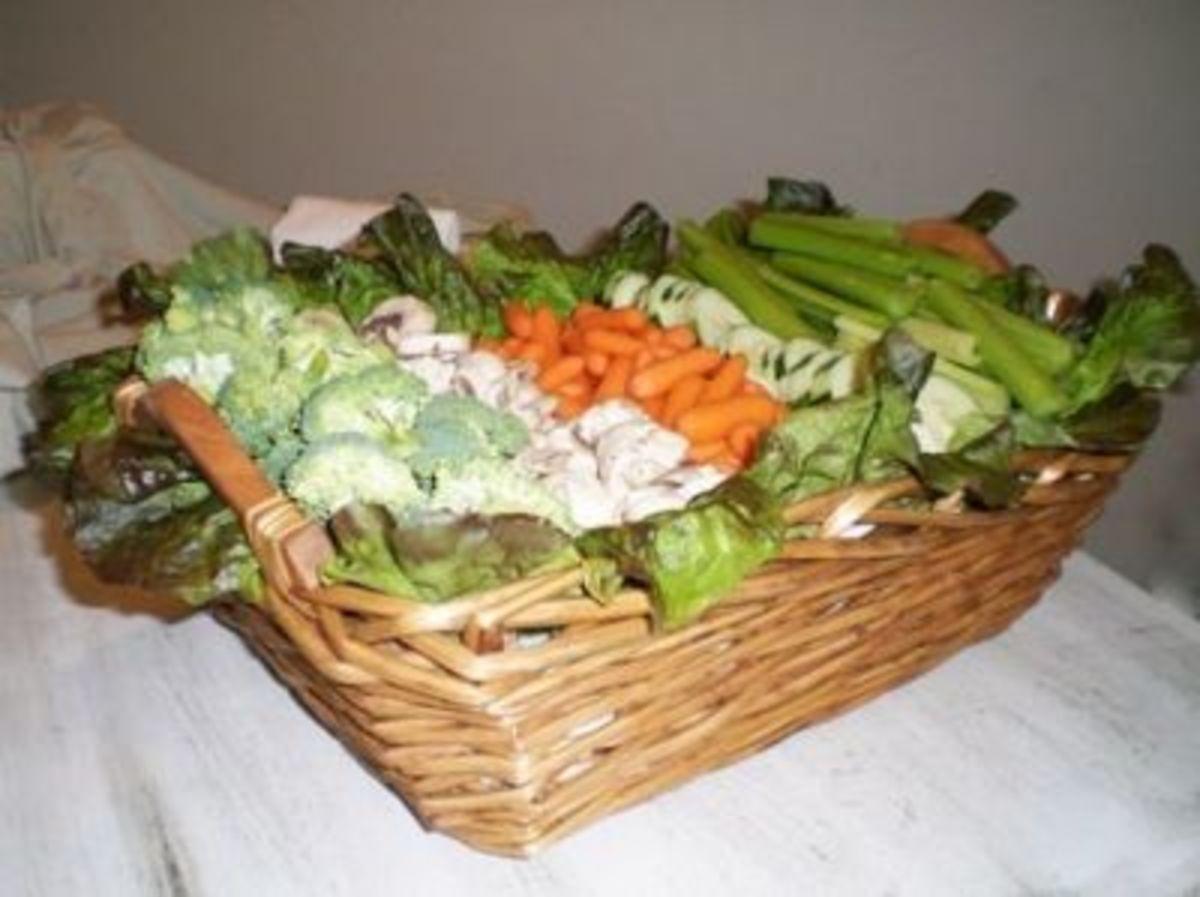 Veggie Basket for Summer BBQ