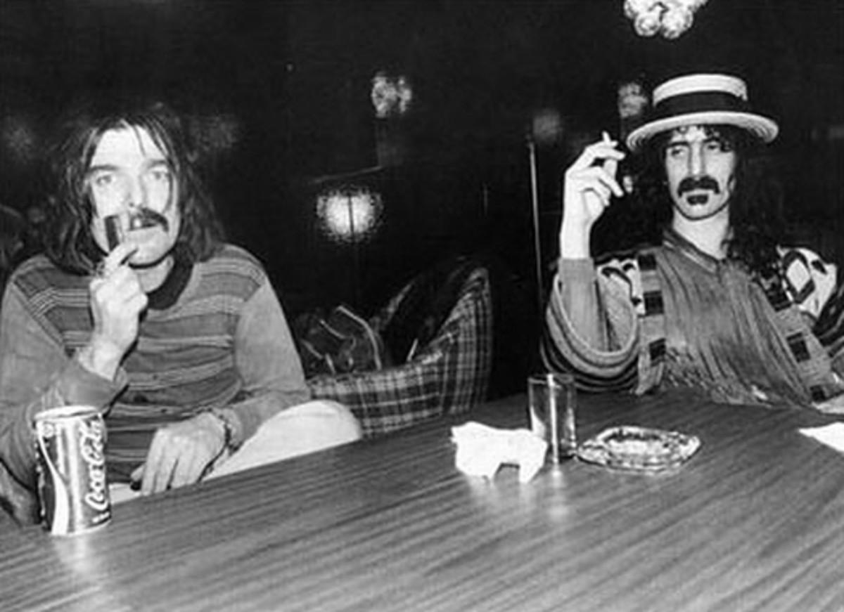 Don Van Vliet and Frank Zappa c.1970