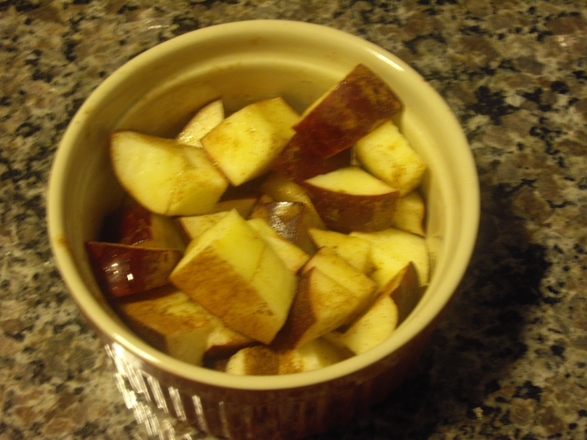 Apples and cinnamon make a great combination