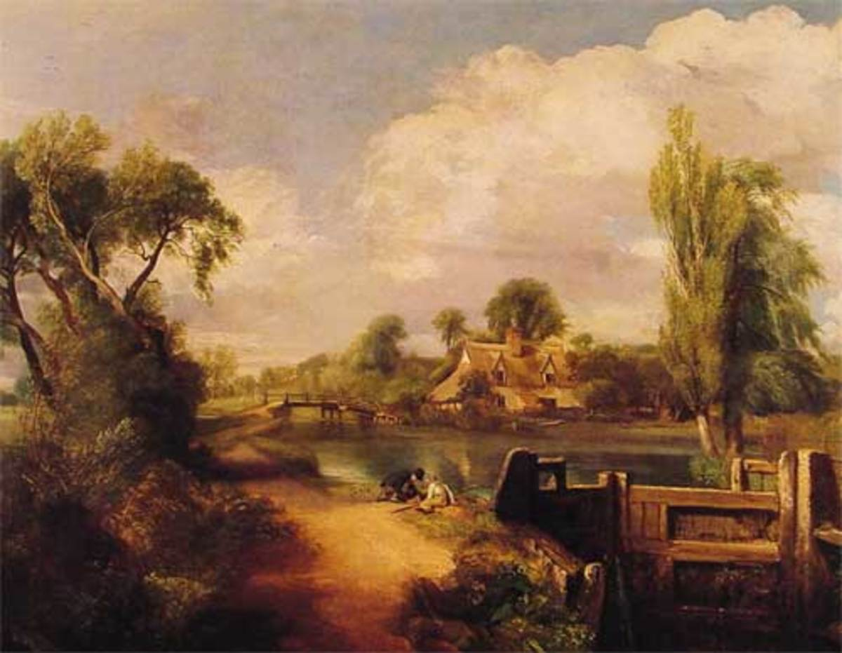 Boys Fishing by John Constable