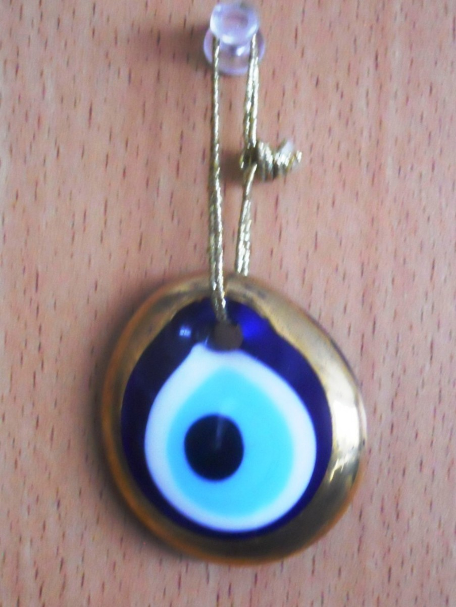 A Turkish protection amulet