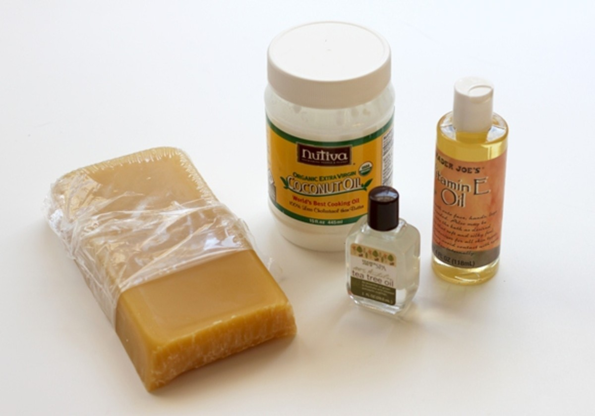 common lip balm making supplies