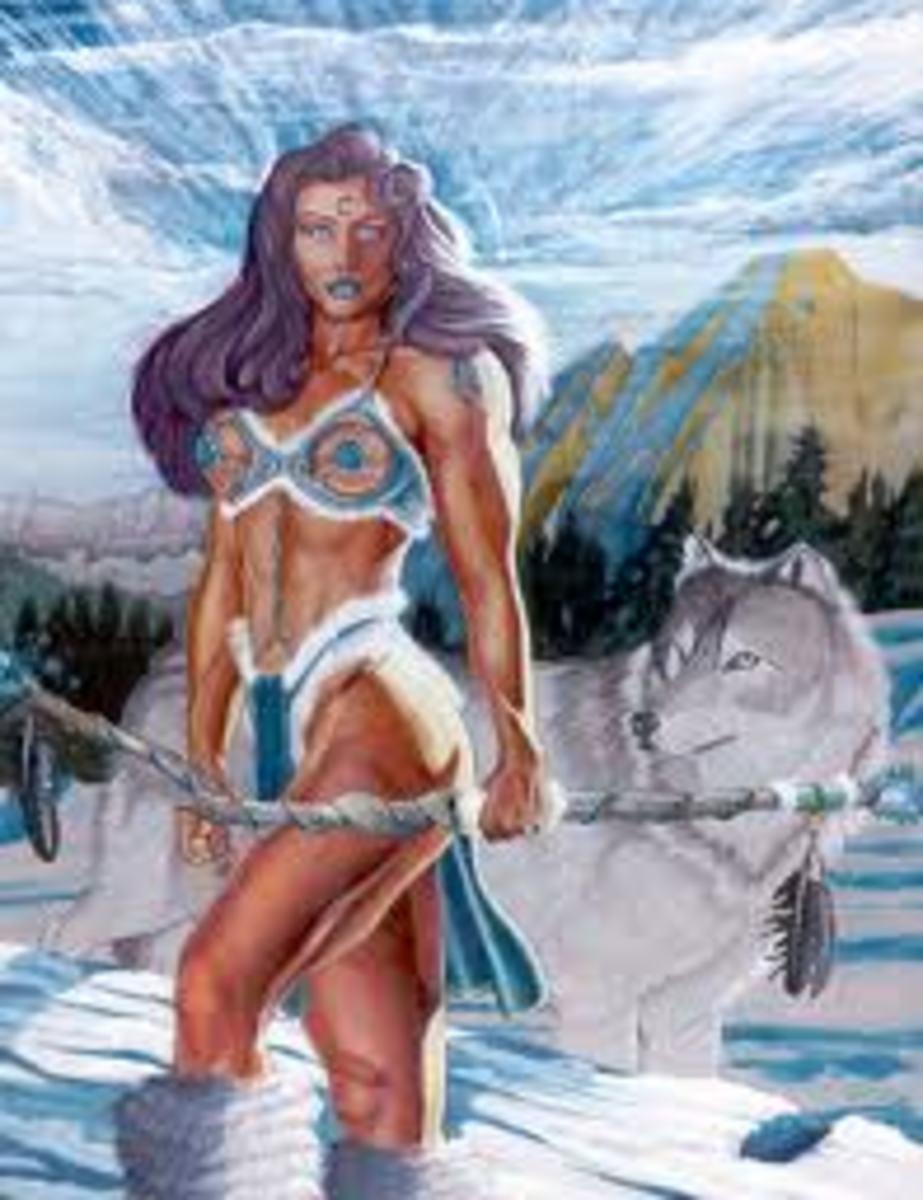 White Wolf .