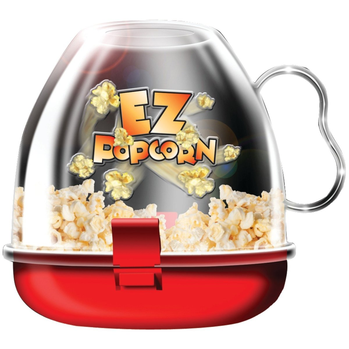 Healthier Snacking Made Easy! My Review of the EZ Popcorn maker