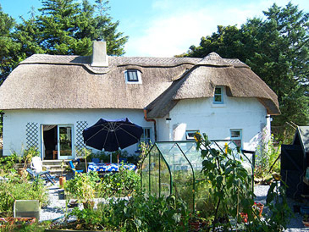 Ireland Thatched Cottage For Sale Thatched-roof Cottage For Sale
