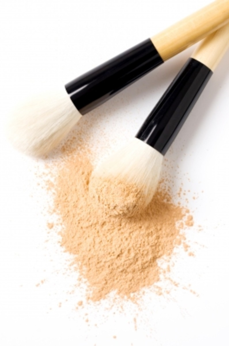 a dusting of translucent face powder will set the cream blush without adding or changing the color.