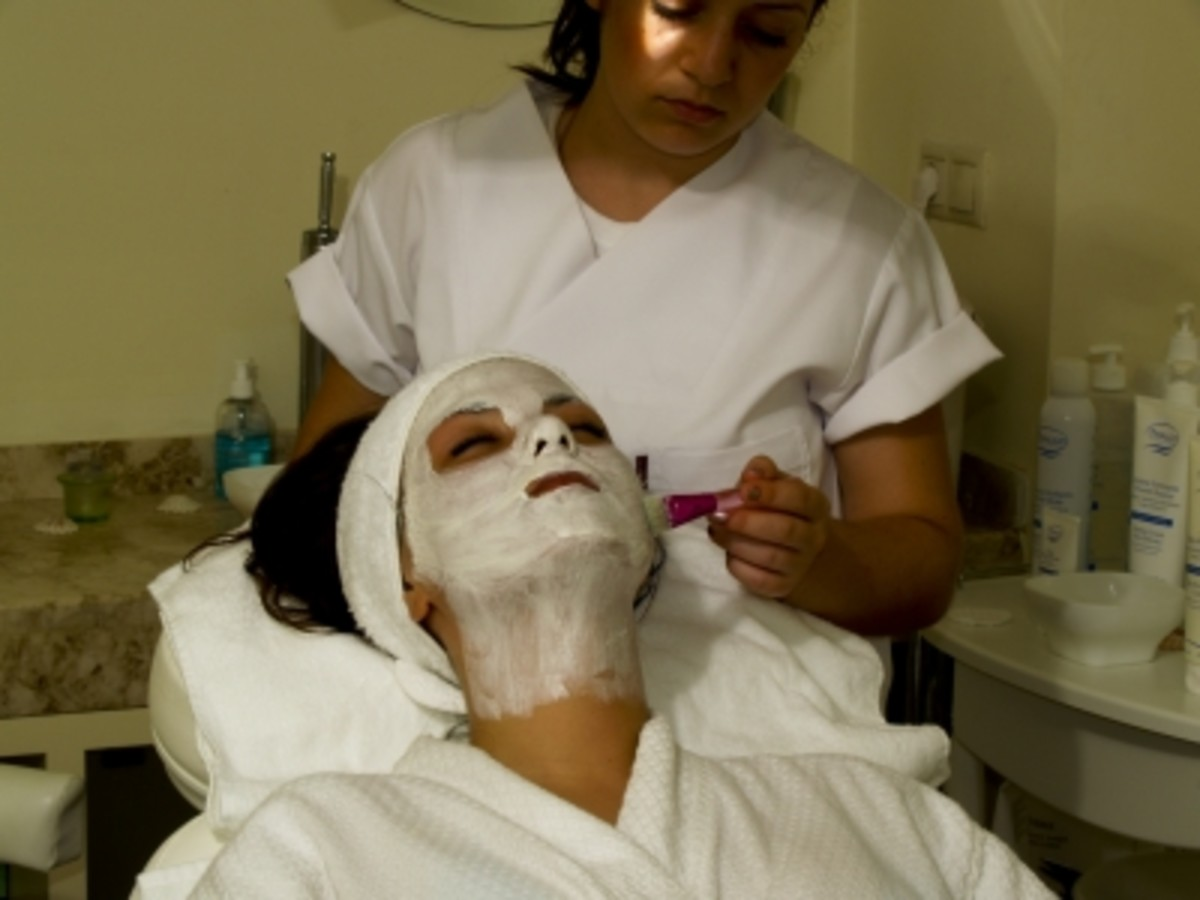 don't forget to apply your mask down onto the neck, often an neglected area.