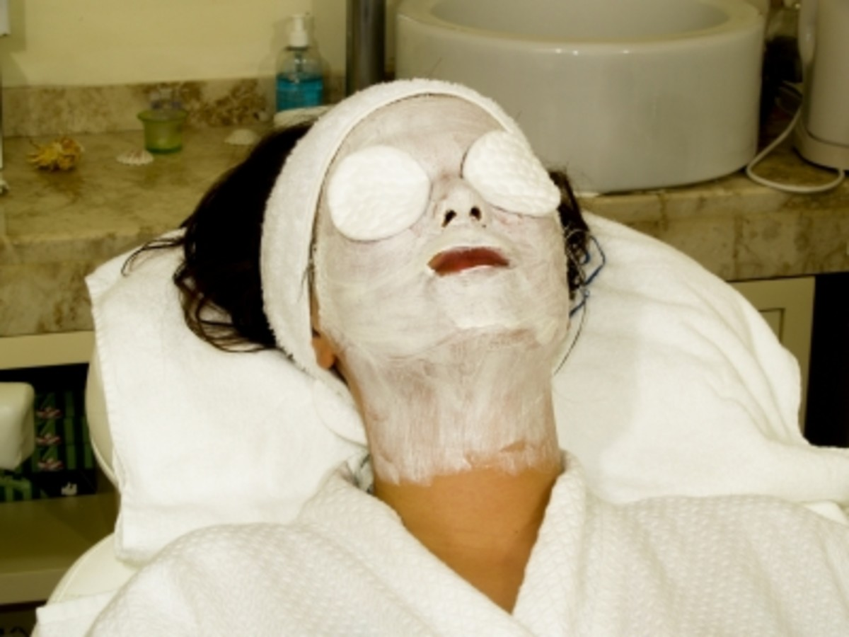 Apply a Face Mask and relax the facial muscles for up to 20 minutes.