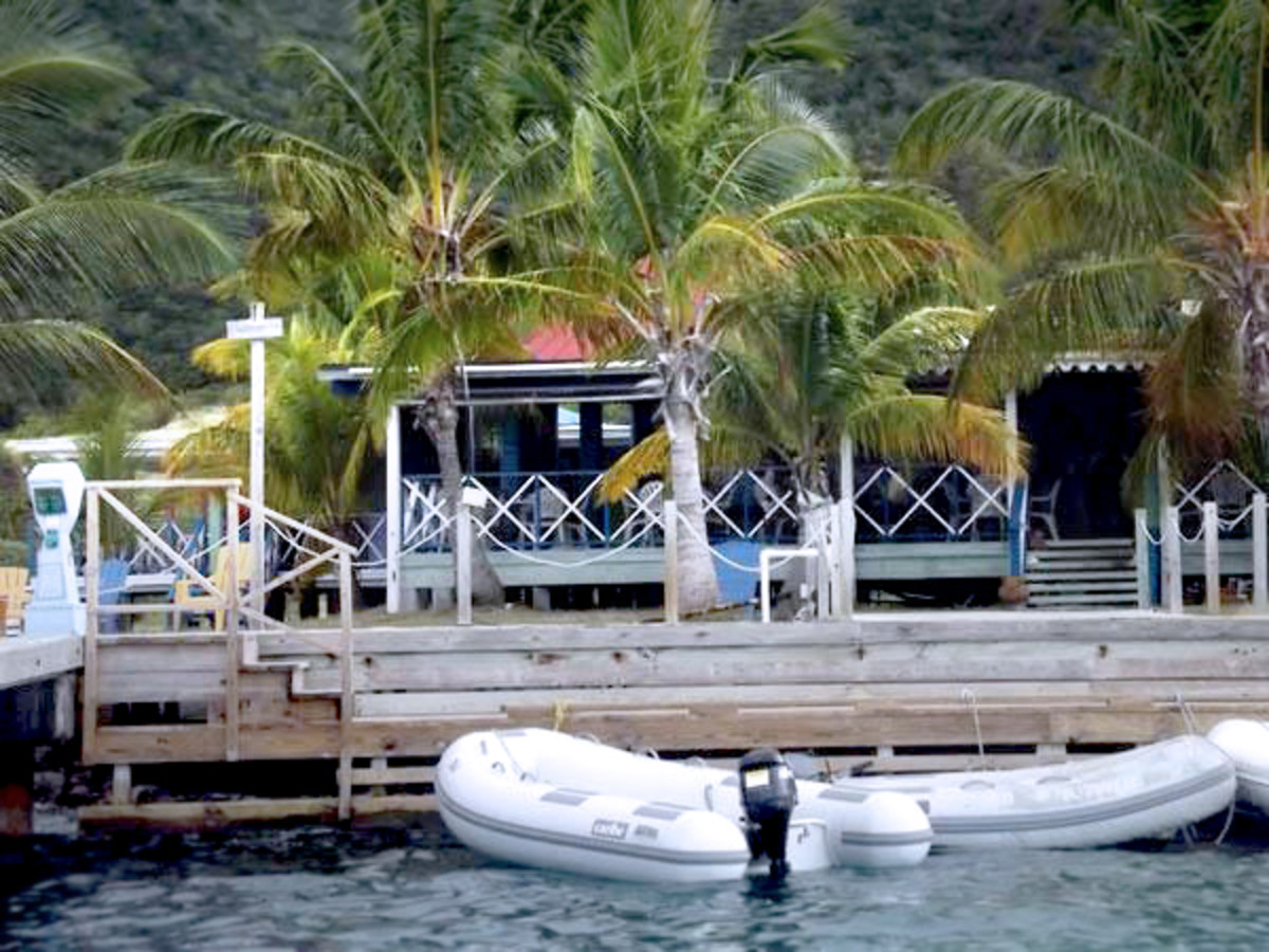 Foxy's Taboo @ Diamond Cay, Jost Van Dyke courtesy of: http://piratesparadisadventures.com