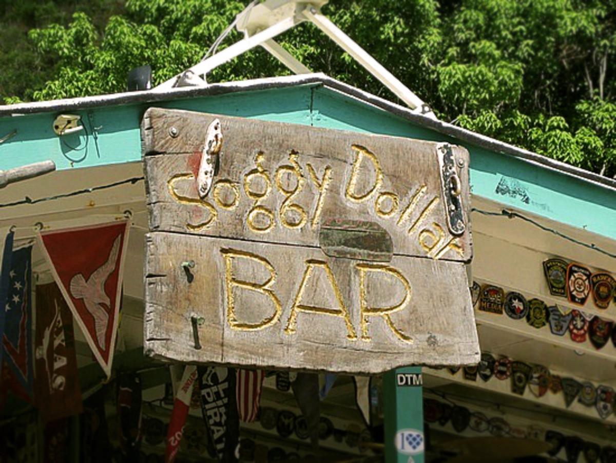 Soggy Dollar Bar @ White Bay, Jost Van Dyke, BVI courtesy of http://piratesparadiseadventures.com