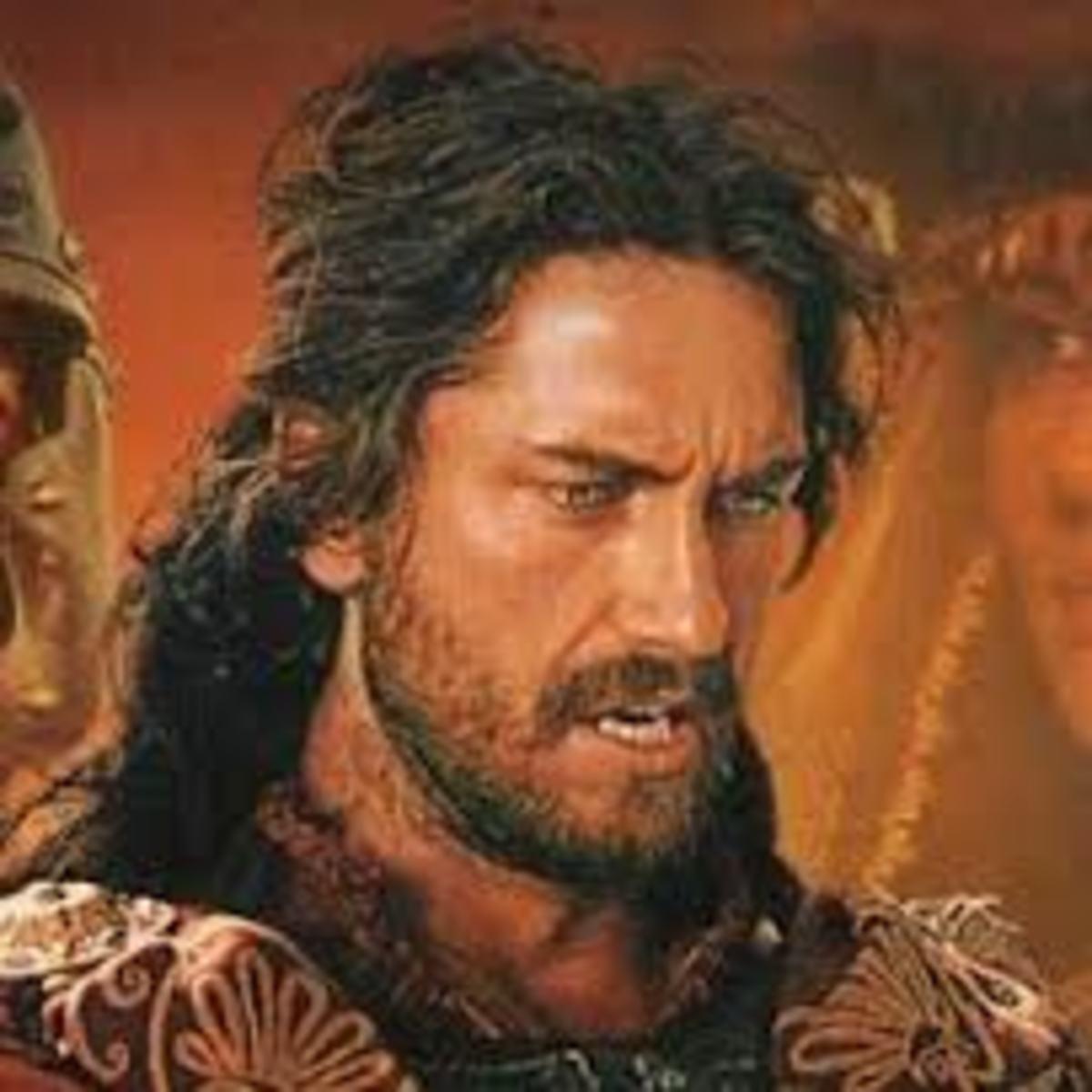 Gerard Butler in Attila the Hun film (2101)