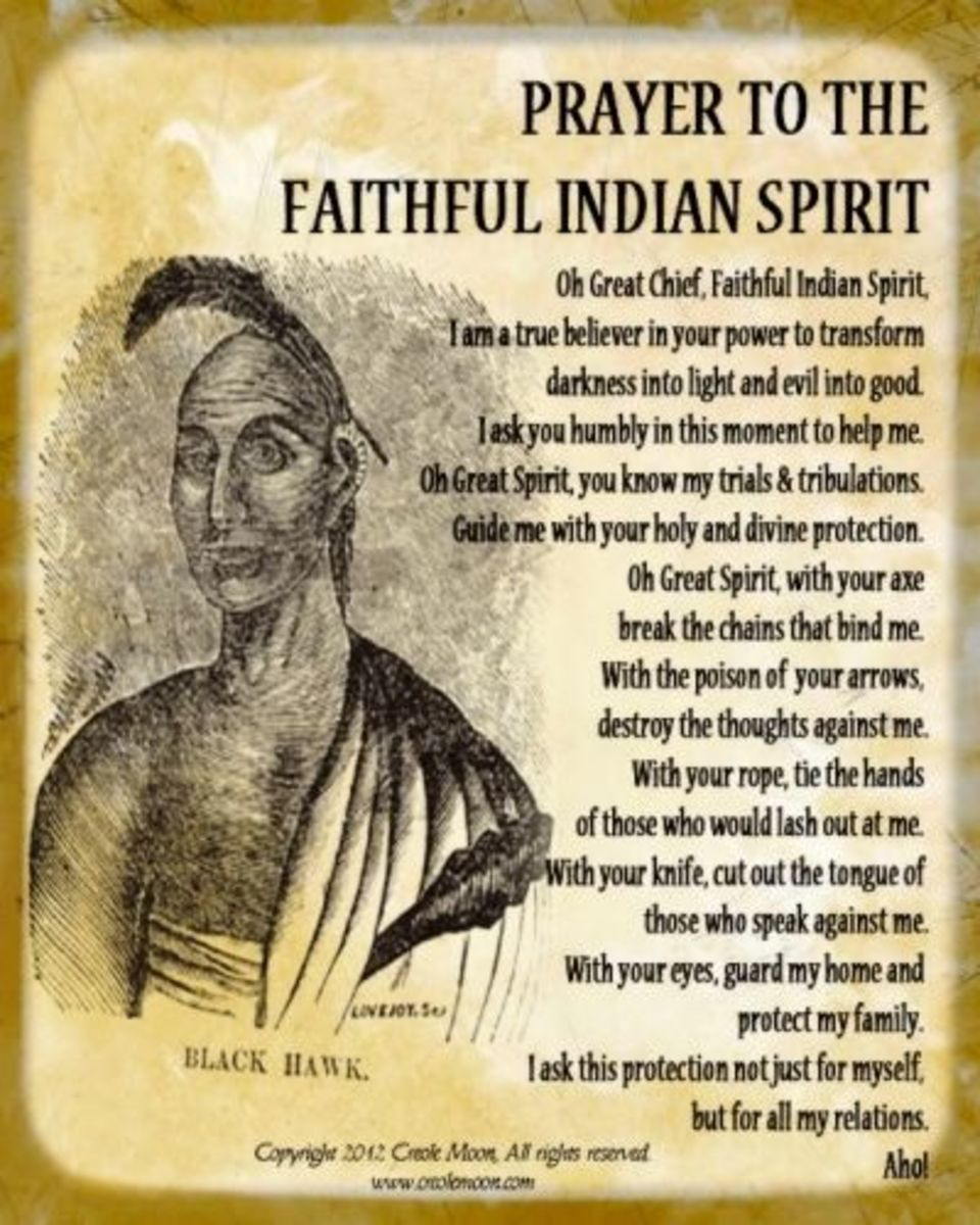 Prayer to the Indian Spirit