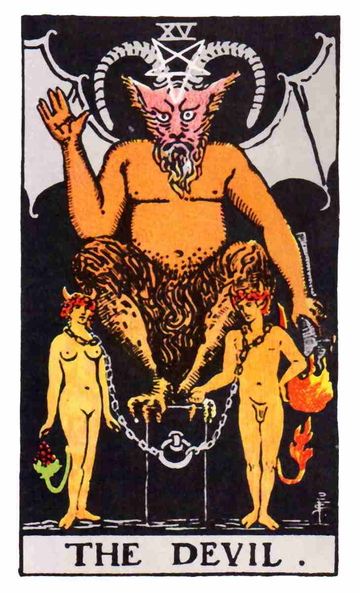 www.tarotmeaning.org THE DEVIL