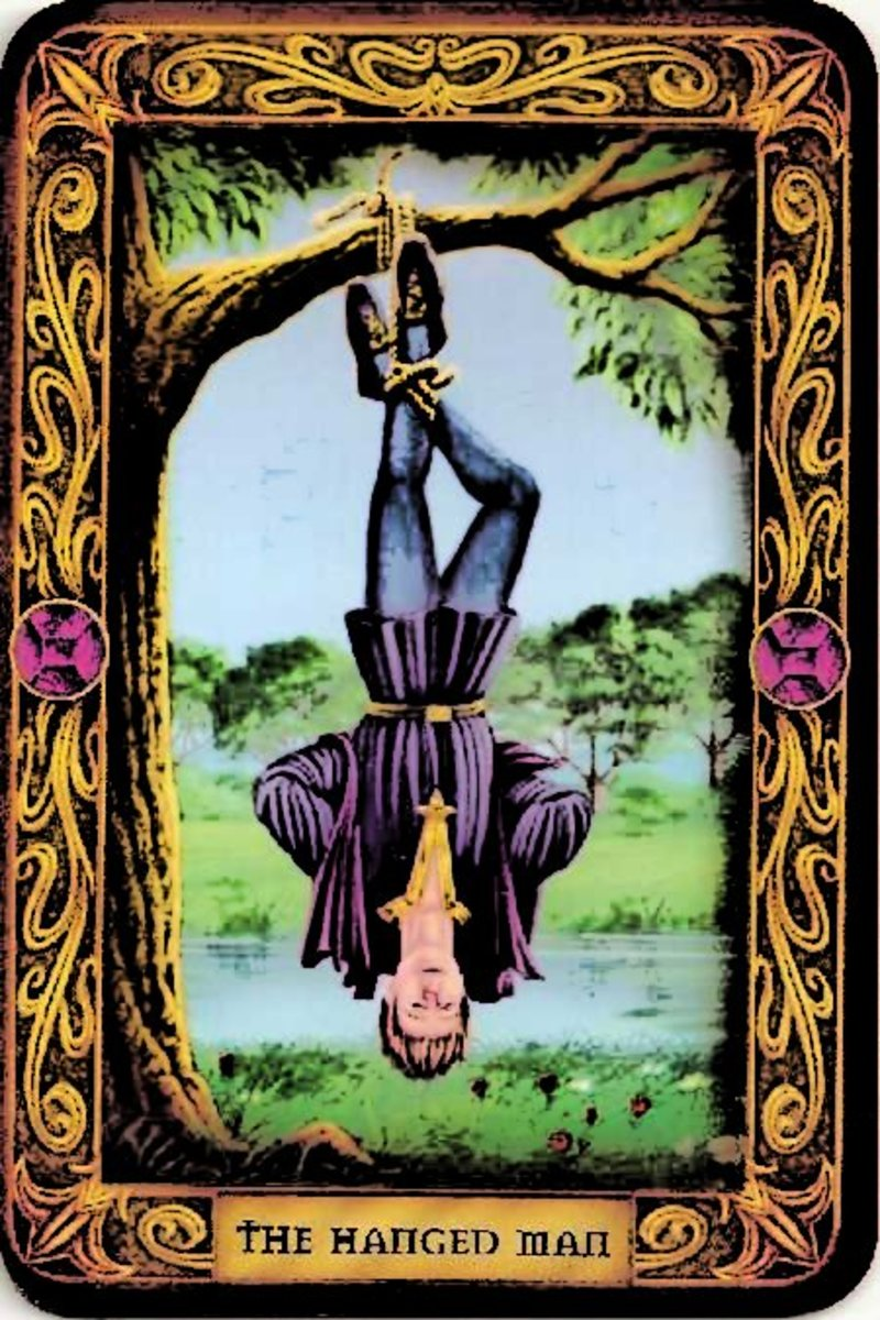 www.tarot-mastery.com THE HANGED MAN