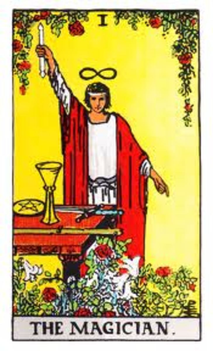 www.tarotmeaning.org  THE MAGICIAN