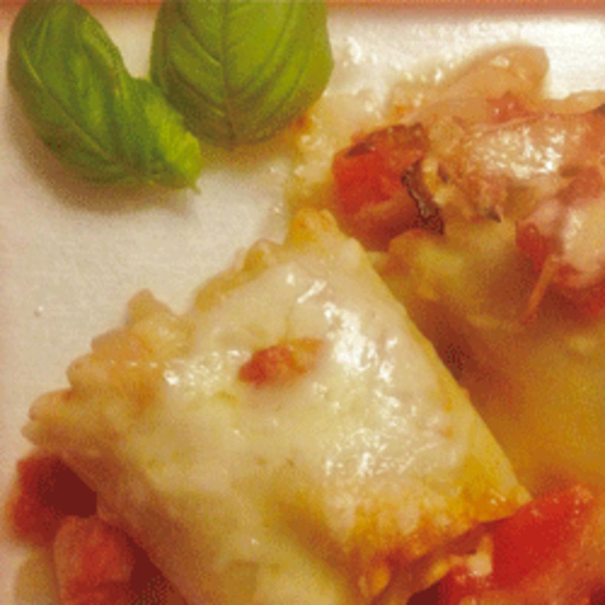 Zucchini & Tomato Lasagna Rolls