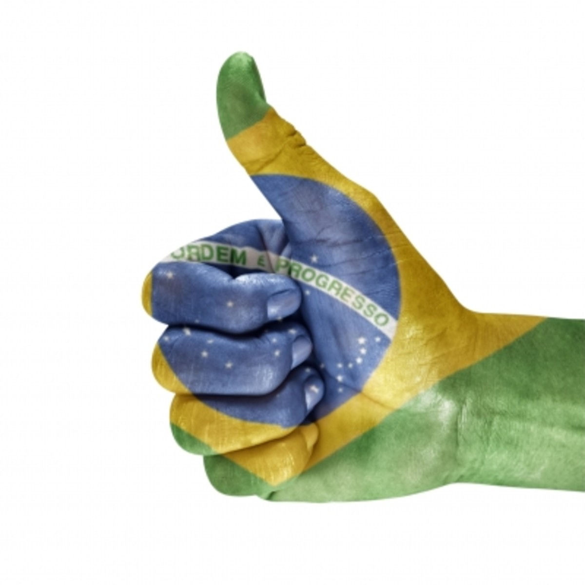 Thumbs up for Brazil