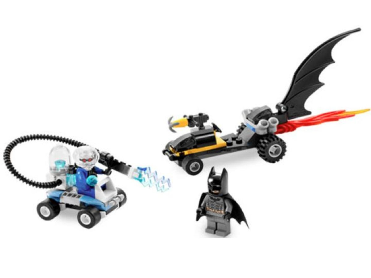 LEGO Batman Batman's Buggy The Escape Of Mr. Freeze 7884 Assembled
