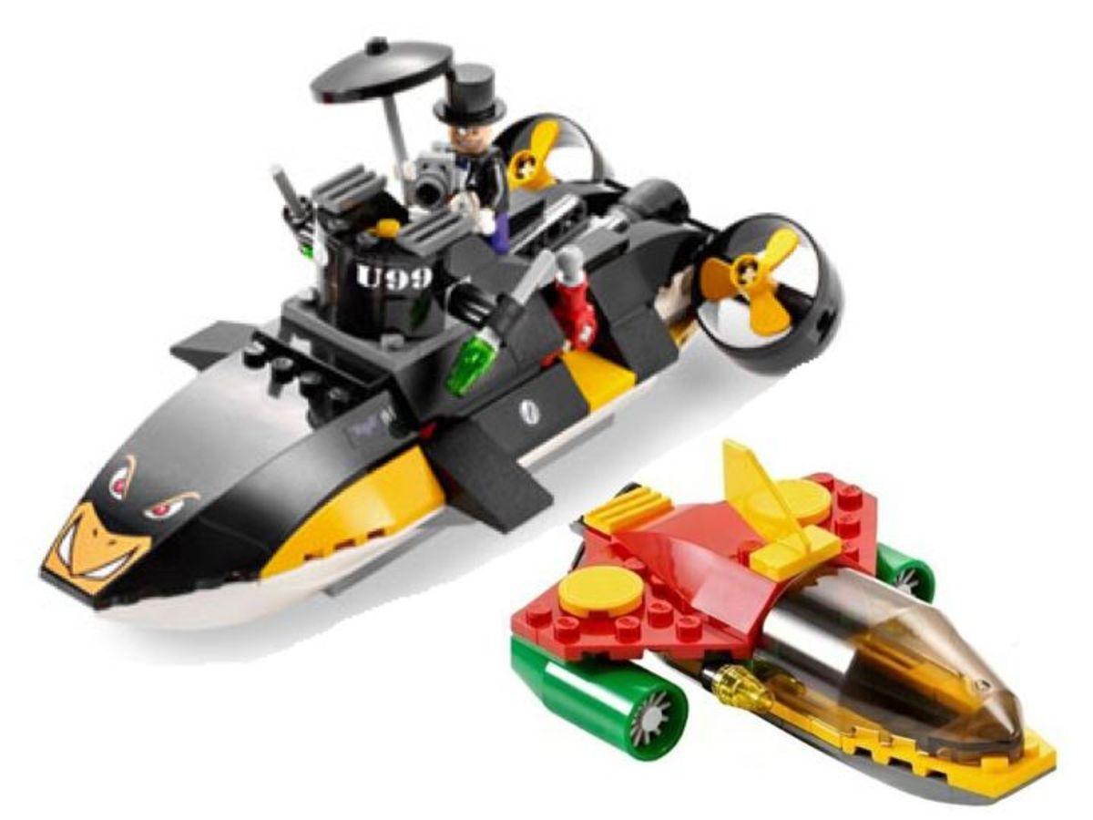 LEGO Batman Robin's Scuba Jet: Attack Of The Penguin 7885 Assembled