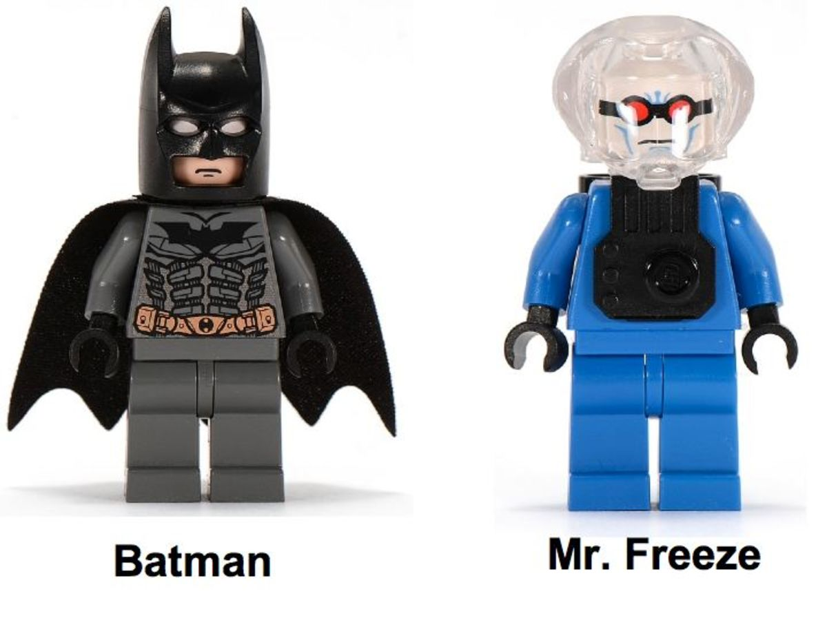 LEGO Batman Batman's Buggy The Escape Of Mr. Freeze 7884 Minifigures