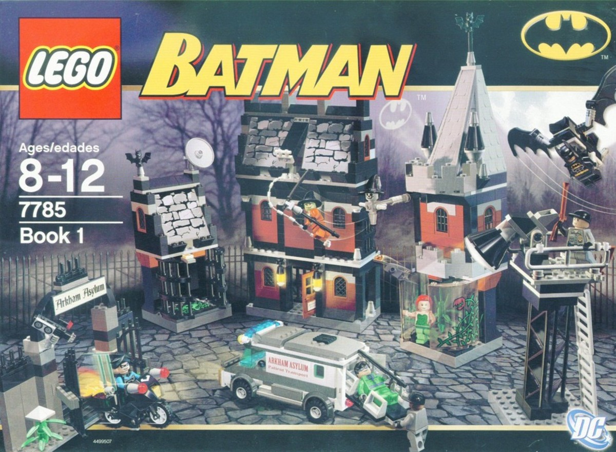 LEGO Batman Arkham Asylum 7785 Box