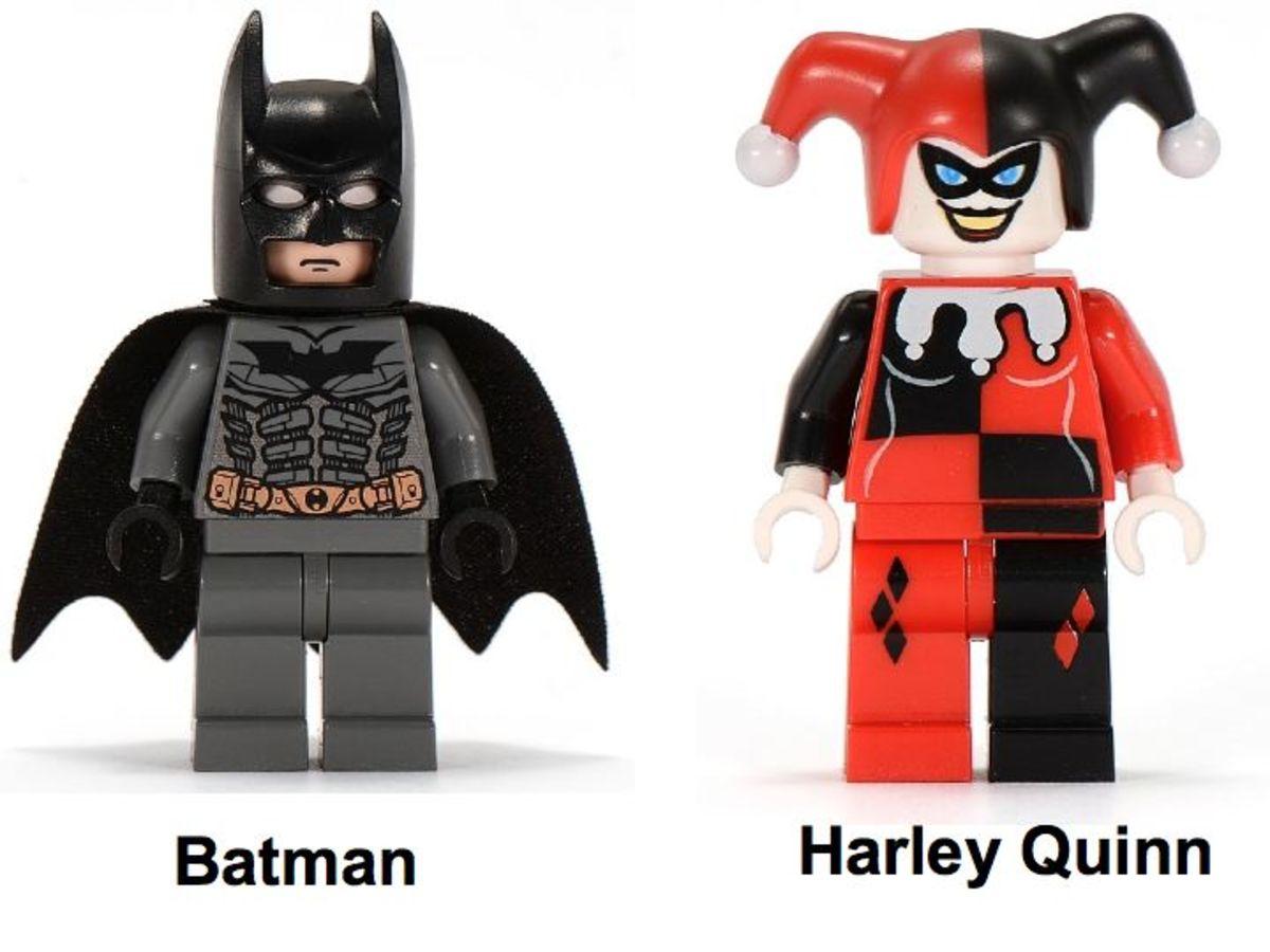 LEGO Batman The Batcycle: Harley Quinn's Hammer Truck 7886 Minifigures