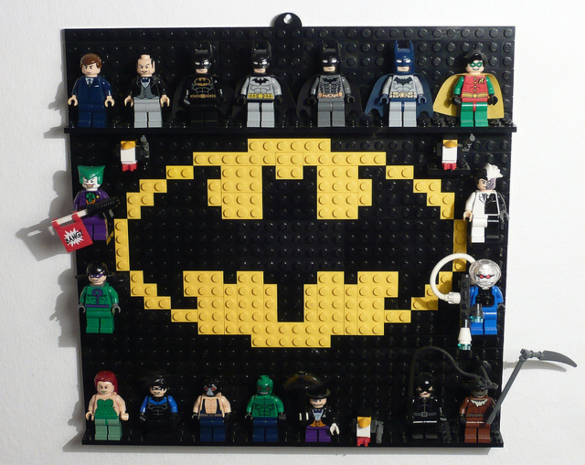 LEGO Batman Minifigures