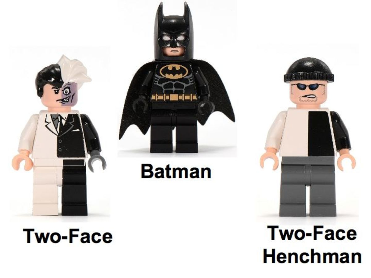 LEGO Batman The Batmobile Two Face's Escape 7781 Minifigures