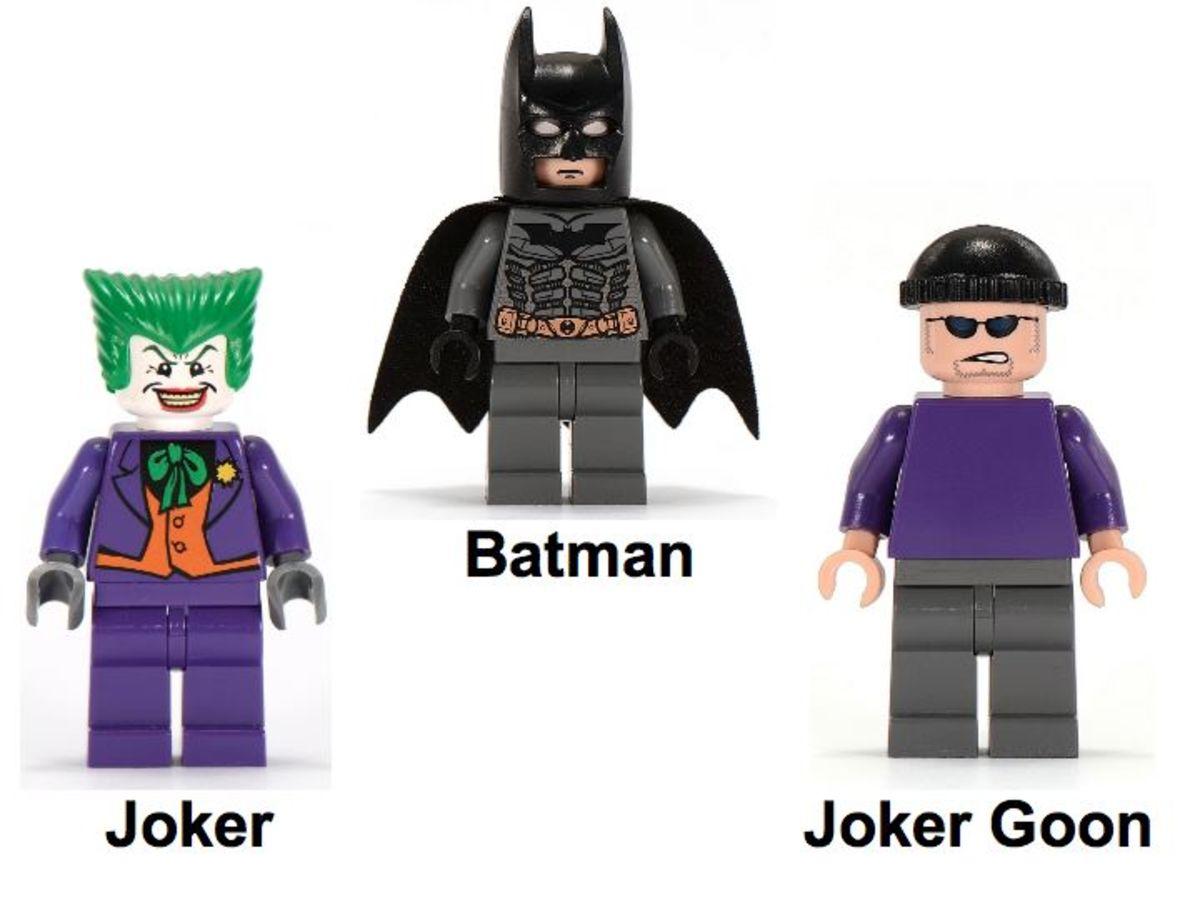 LEGO Batman The Tumbler: Joker's Ice Cream Surprise 7888 Minifigures