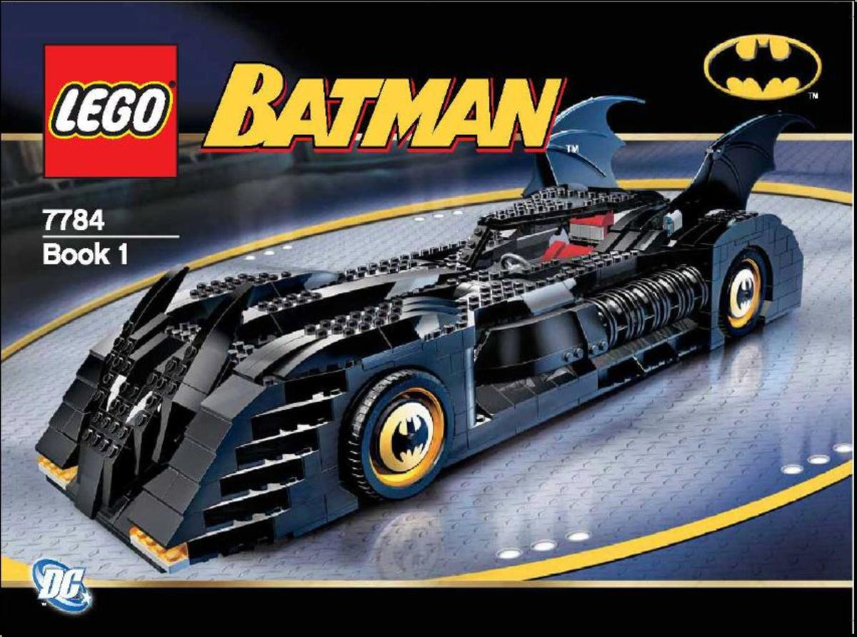 LEGO Batman The Batmobile Ultimate Collector's Edition 7784 Box