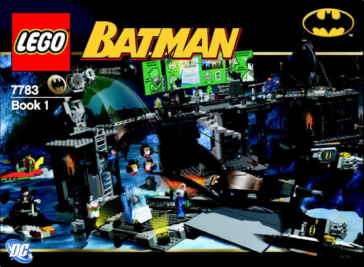 LEGO Batman The Batcave The Penguin And Mr. Freeze's Invasion 7783 Box