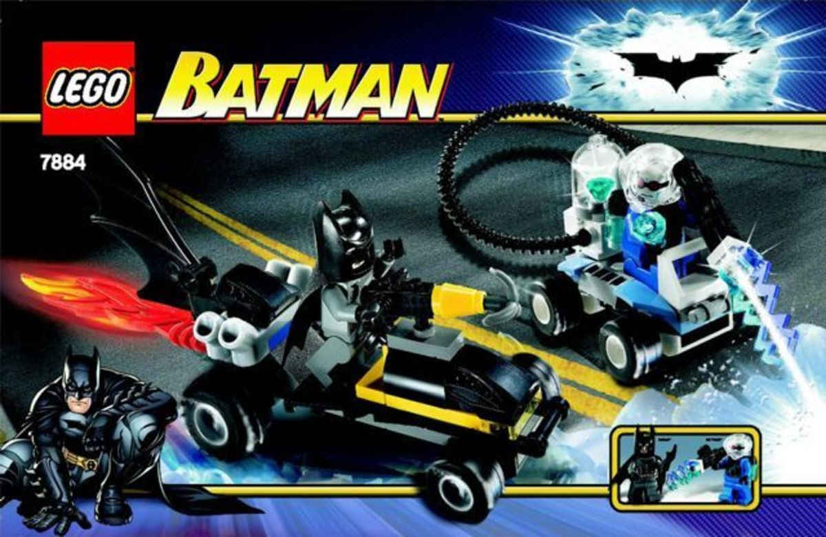 LEGO Batman Batman's Buggy The Escape Of Mr. Freeze 7884 Box