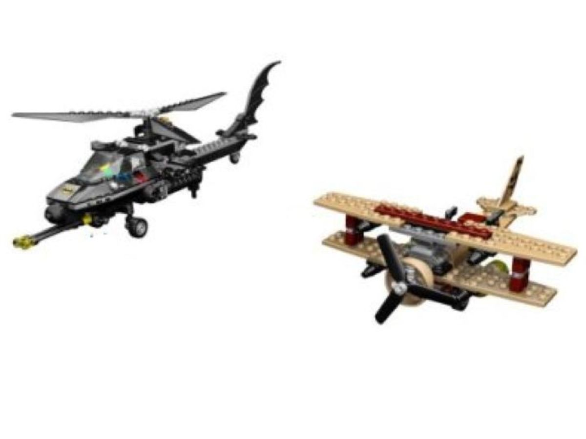 LEGO Batman The Batcopter The Chase For Scarecrow 7786 Assembled