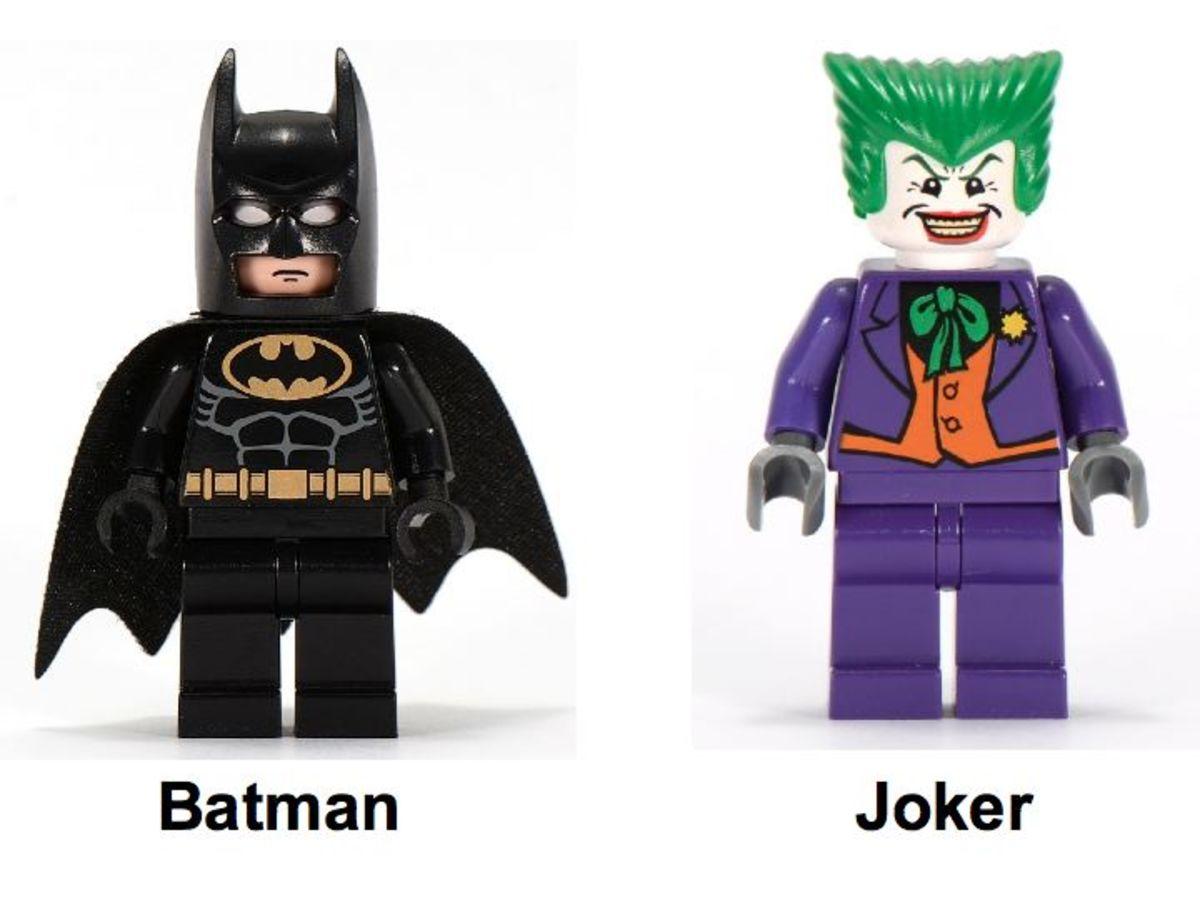 The Batman Comic-Con Exclusive COMCON003 Minifigures