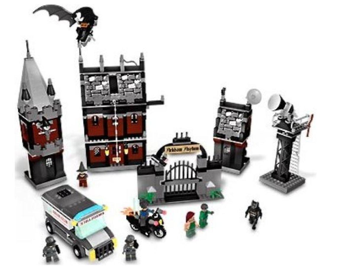 LEGO Batman Arkham Asylum 7785 Assembled