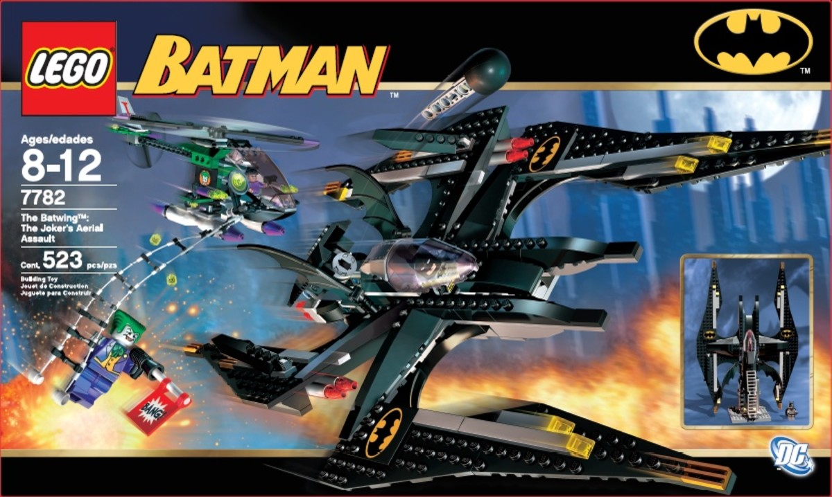 LEGO Batman The Batwing The Joker's Aerial Assault 7782 Box
