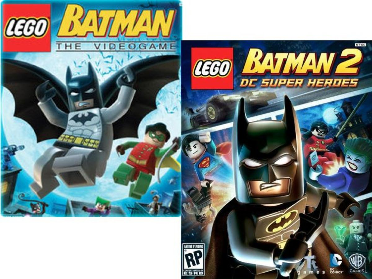 LEGO Batman Video Game Box Art