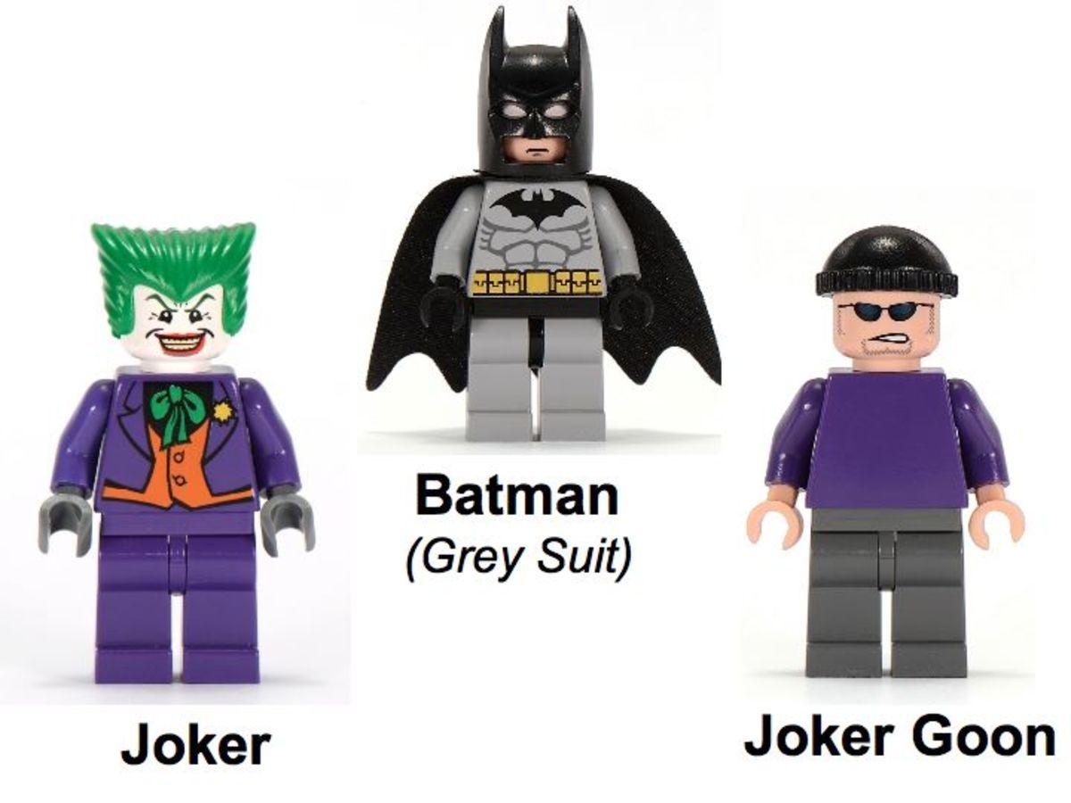 LEGO Batman The Batwing The Joker's Aerial Assault 7782 Minifigures
