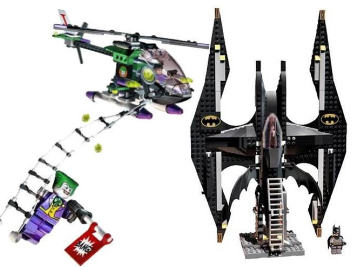 LEGO Batman The Batwing The Joker's Aerial Assault 7782 Assembled