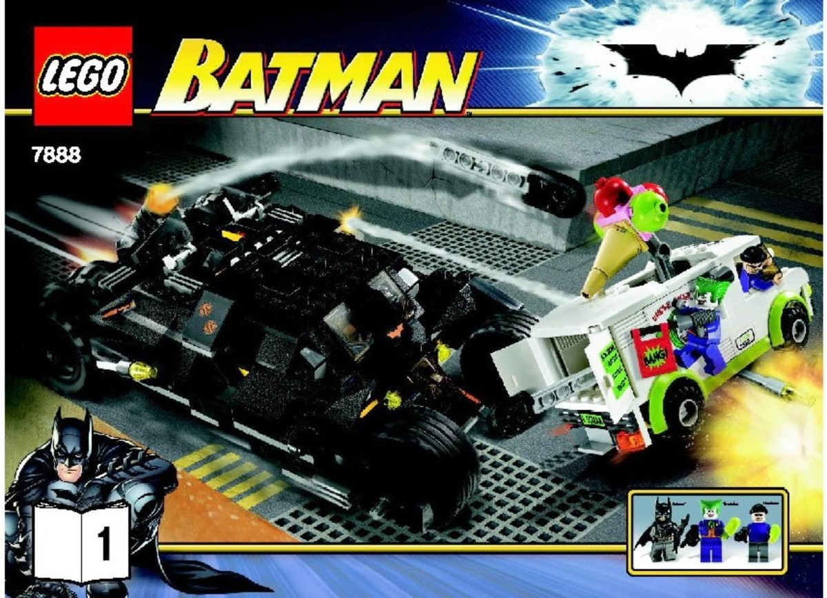 LEGO Batman The Tumbler: Joker's Ice Cream Surprise 7888 Box