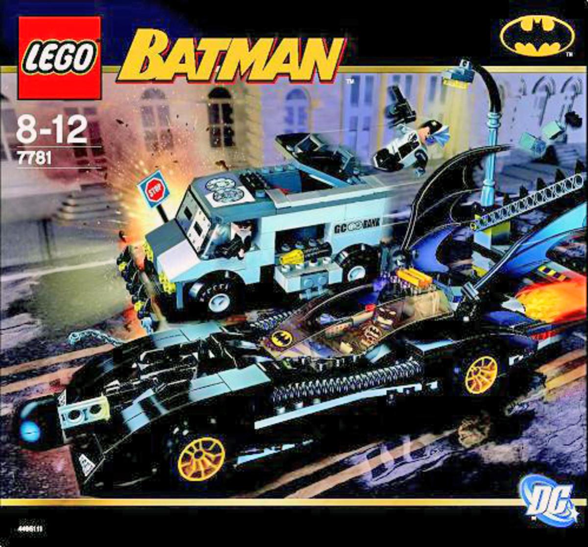 LEGO Batman The Batmobile Two Face's Escape 7781 Box