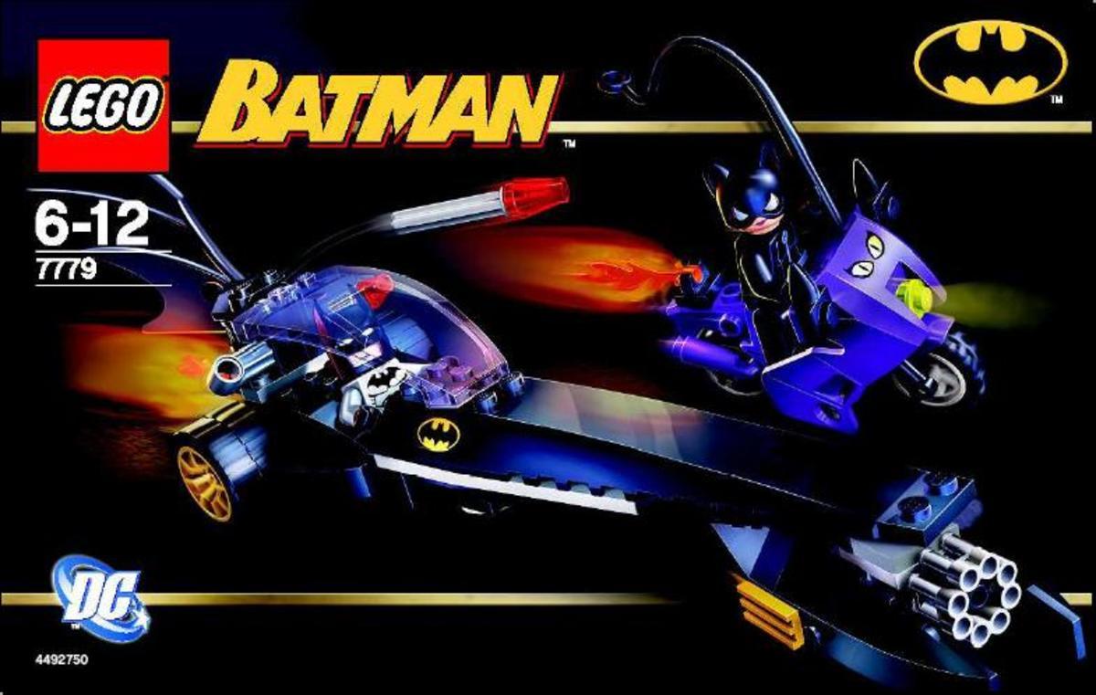 LEGO Batman Dragster Catwoman Pursuit 7779 Box
