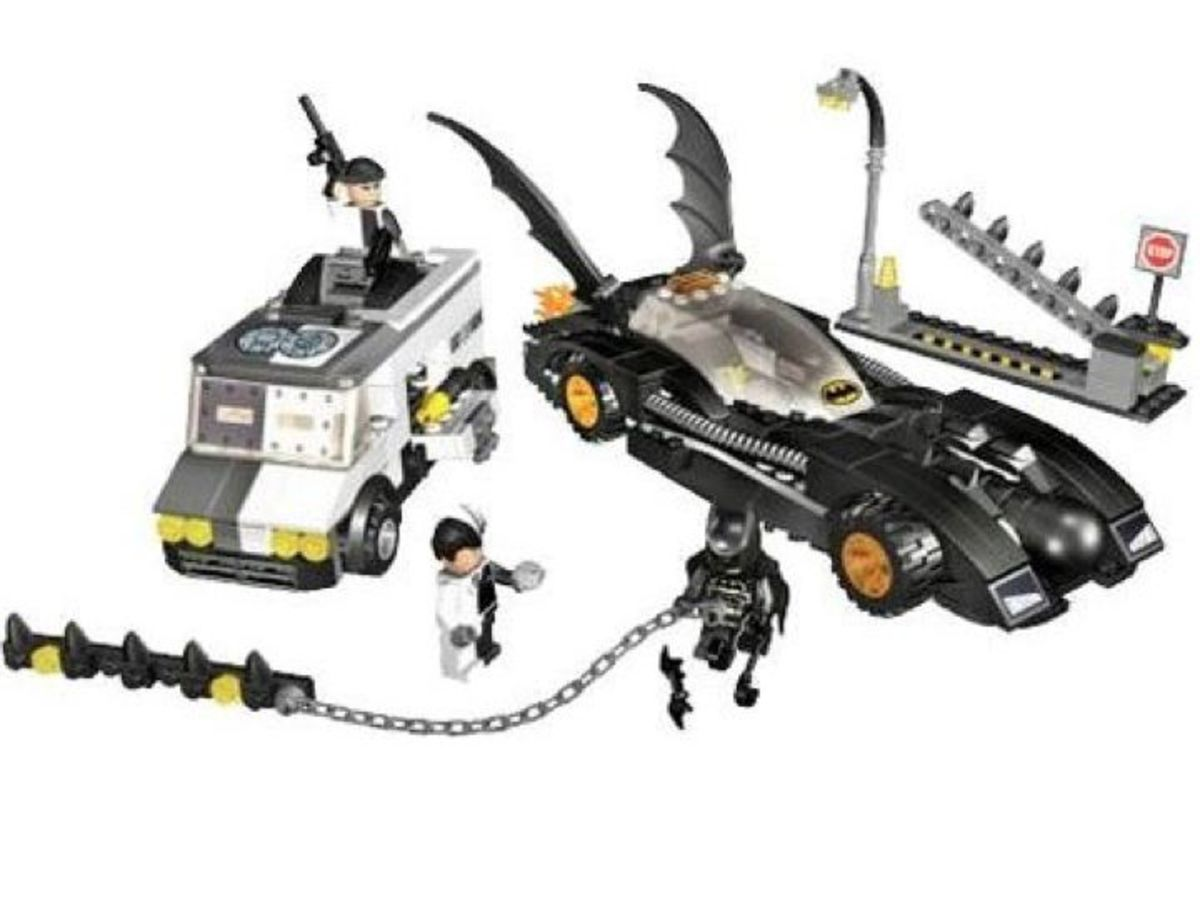 LEGO Batman The Batmobile Two Face's Escape 7781 Assembled