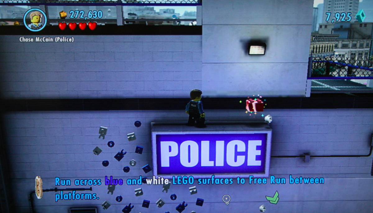 LEGO City Undercover walkthrough, Part Four: Albatross Island Prison