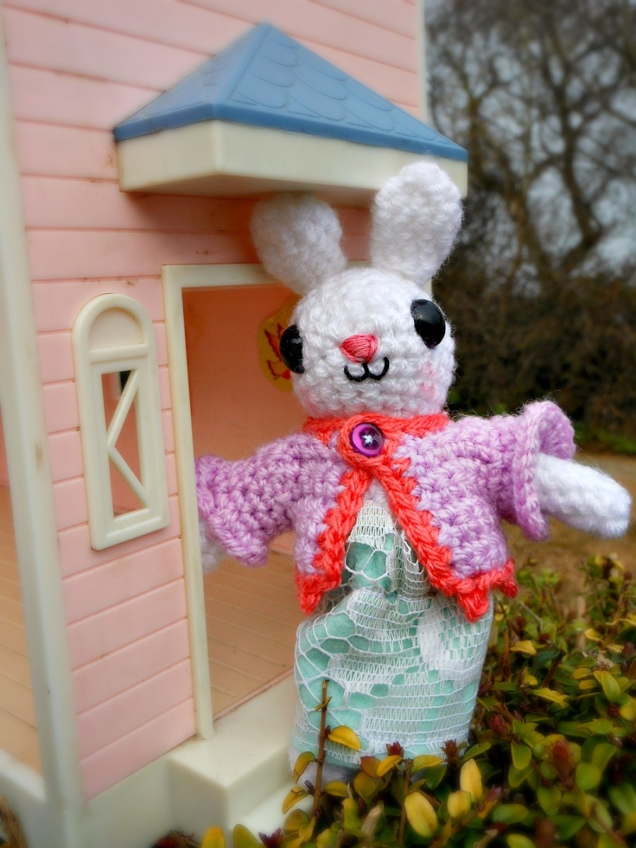 A day outfit for little bunny.