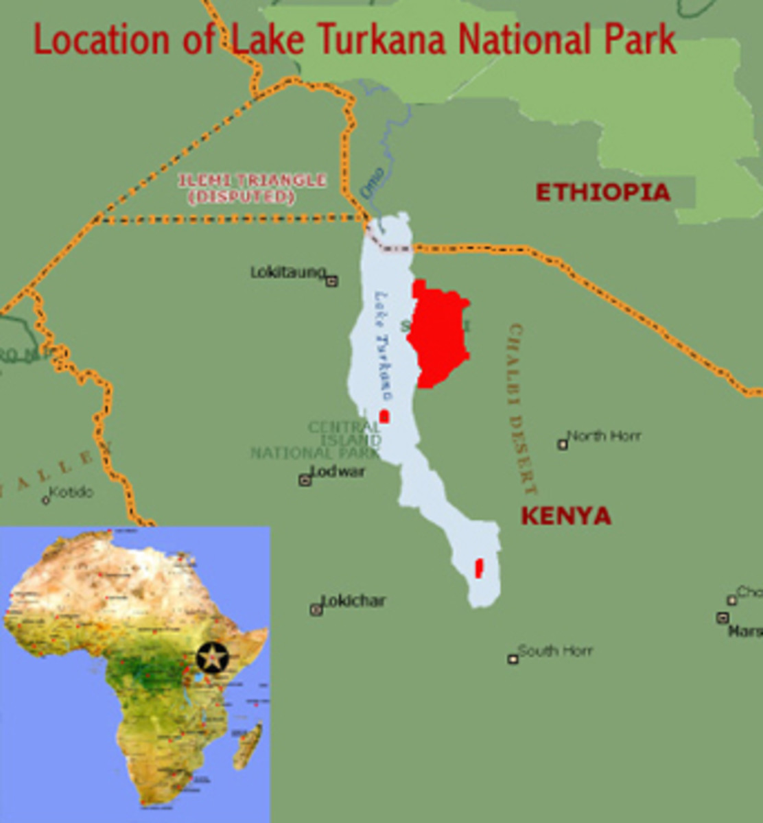 The Oromo people migrated to the region of Lake Turkana (Lake Rudolf)