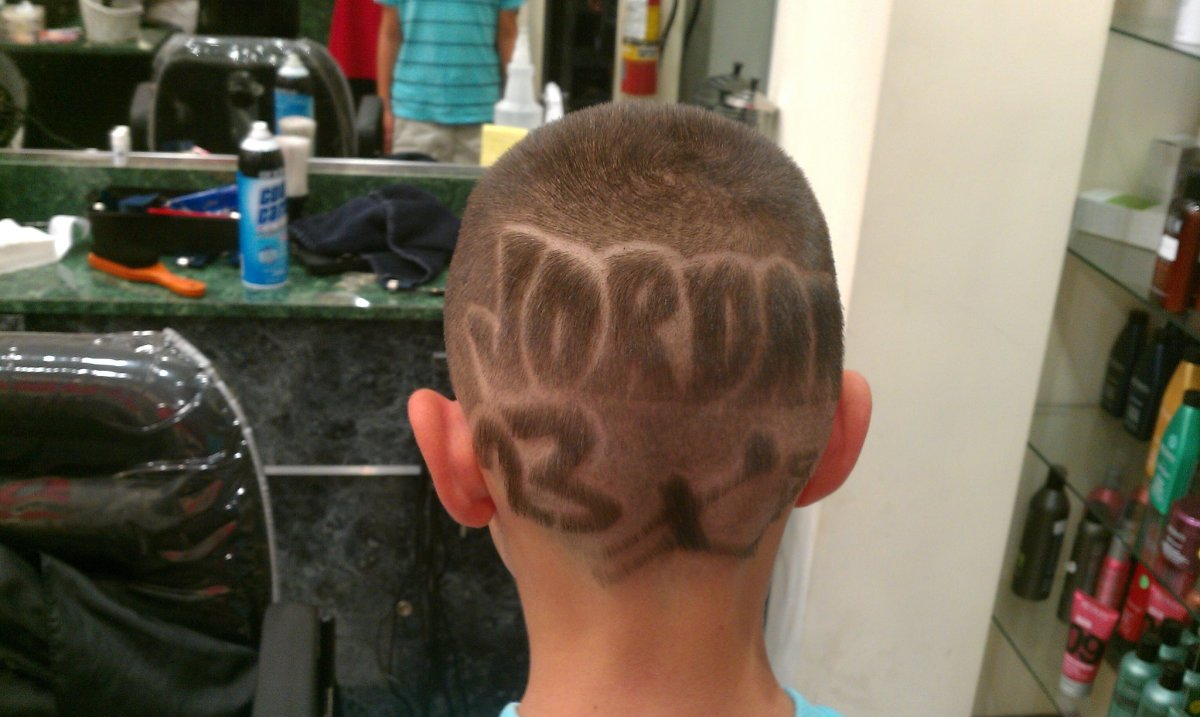 Jordan 23 Basketball Hair Design